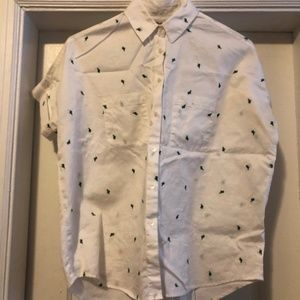 Madewell Cactus Courier Shirt (XS)